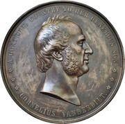 National Gratitude Medal - Cornelius Vanderbilt – obverse