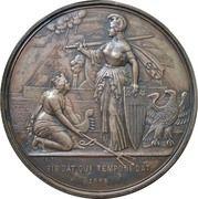 National Gratitude Medal - Cornelius Vanderbilt – reverse