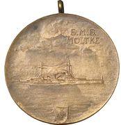 Medal - S.M.S. Moltke – reverse