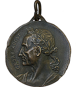 Medal - Nave Giulio Cesare – reverse
