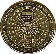Monnaie de Paris - Fort de Brégançon – reverse