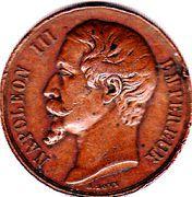 Medal - Napoleon III (Chemins de fer en Algerie) – obverse