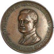 Medal - Lt. Gov. of Manitoba (Cameron) – obverse