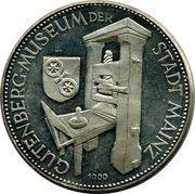 Token - Mainz (Gutenberg Museum) – obverse