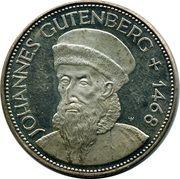 Token - Mainz (Gutenberg Museum) – reverse