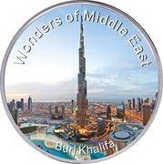 Wonders of Middle East - Burj Khalifa – obverse