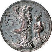 Souvenir Coin - Chang E – obverse