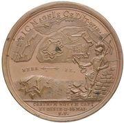 Medal - Peter I (Capture of Nienshanc 1703) – reverse