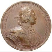 Medal - Peter I (Foundation of St. Petersburg 1703) – obverse