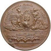 Medal - Peter I (Foundation of St. Petersburg 1703) – reverse