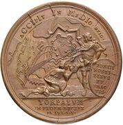 Medal - Peter I (Capture of Dorpat, 14 July 1704) – reverse