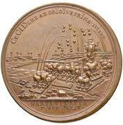 Medal - Peter I (Capture of Narva 1704) – reverse