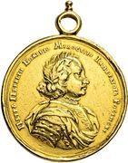 Medal - Peter I – obverse