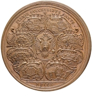 Medal - Peter I (Military Successes) – reverse
