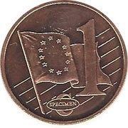 1 Cent (Andorra Euro Fantasy Token) – reverse