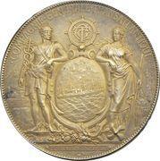 Award medal - Compagnie Generale Transatlantique – obverse