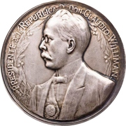 Medal - Opening of the port in Montevideo – obverse