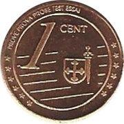 1 Cent (Cartago Fantasy Issues) – reverse