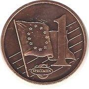 1 Cent (Cyprus Euro Fantasy Token) – reverse