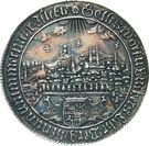 Medal - 100th Anniversary Naumburger Convention (Mansfeld-Eisleben) – reverse