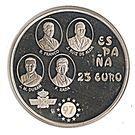 25 Euro (Plus Ultra) – obverse