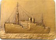 Plaquette - Compagnie Maritime Belge SS Léopoldville – reverse