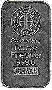 1 oz Silver (Argor-Heraeus - Gedachtnniskirche) – reverse