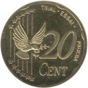 20 Cent (Denmark Euro Fantasy Token) – reverse