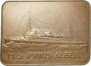 Plaquette - Shipbuilding trade exhibition – obverse