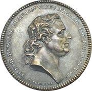 Medal - Death of Fredrik Henrik af Chapman – obverse