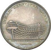 Medal - Death of Fredrik Henrik af Chapman – reverse