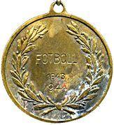 Medal - Skuru Idrottsklubb – reverse