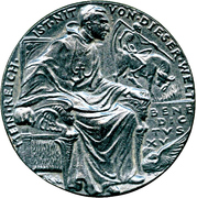 Medal - Pope Benedict XV's support to the Allies – obverse