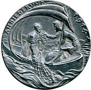 Medal - Pope Benedict XV's support to the Allies – reverse