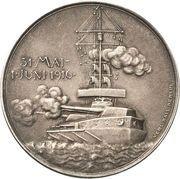 Medal - Admiral Reinhard Scheer and his victory at Skagerrak – reverse