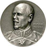 Medal - Admiral Franz Ritter von Hipper and his victory at Skagerrak – obverse