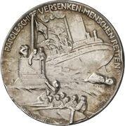 Medal - Großadmiral Alfred von Tirpitz – reverse