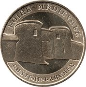 Monnaie de Paris - Château-Larcher – obverse