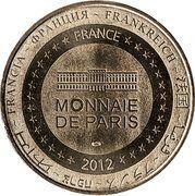 Monnaie de Paris - Château-Larcher – reverse