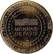 Monnaie de Paris - 120 ans Bibendum – reverse