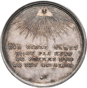 Medal - Astronomical new year – reverse