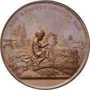 Medal - The fire of Copenhagen (Bronze) – obverse