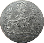 Medallion - George III and Charlotte – reverse