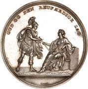 Medal - Attack on Copenhagen (Silver) – obverse