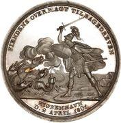 Medal - Attack on Copenhagen (Silver) – reverse