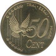50 Cent (Denmark Euro Fantasy Token) – reverse