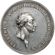 Silver prize medal of the Academy of Fine Arts (Restrike) – obverse