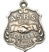 Medal - Amalgamated Society of Railway Servants Scotch railway strike – obverse