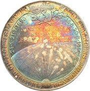 Medal - Polar expedition of Nansen on the Fram – reverse