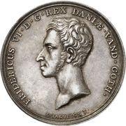 Medal - Frederik VI (Reformation Anniversary) – obverse